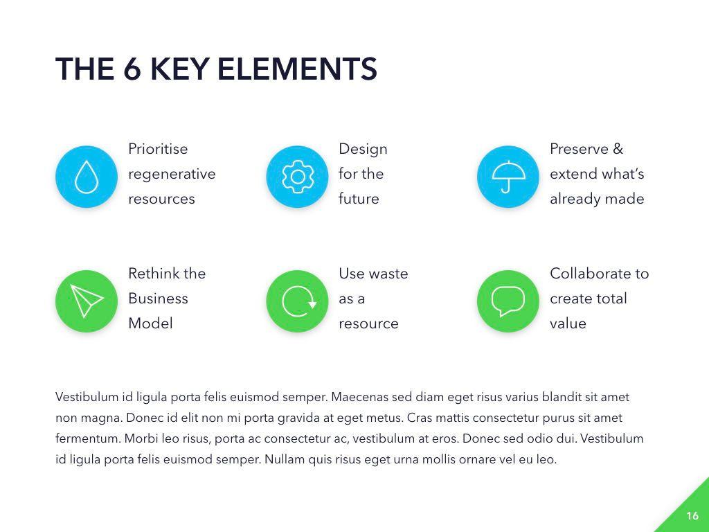 Circular Economy PowerPoint Template, Slide 17, 04994, Presentation Templates — PoweredTemplate.com