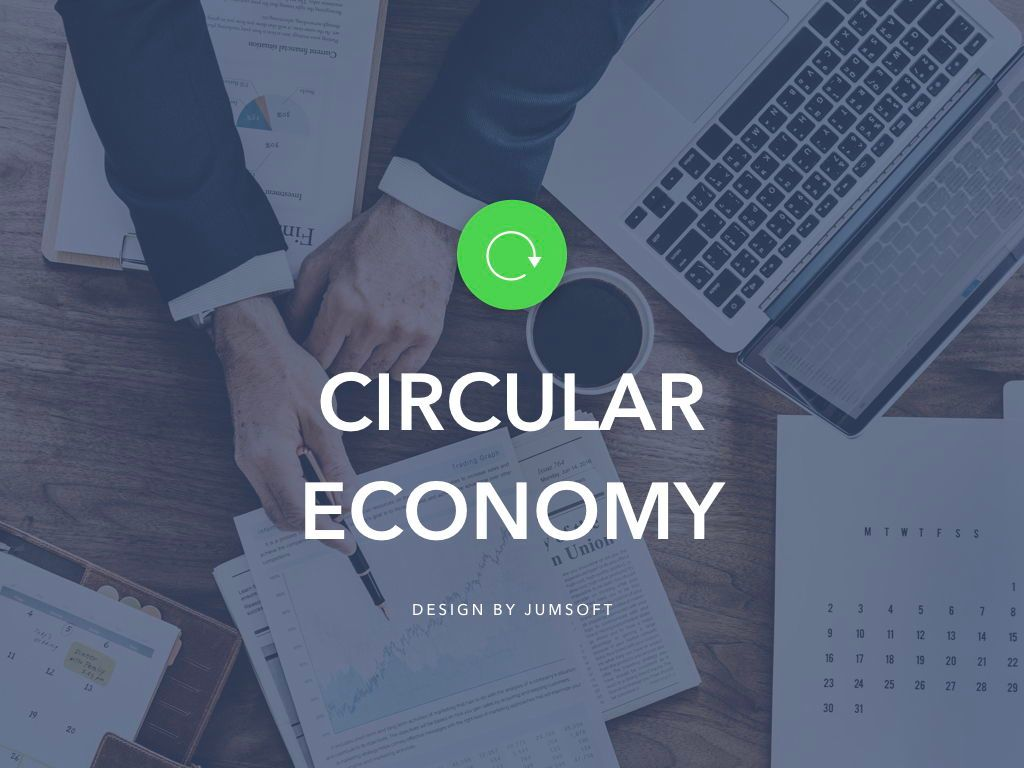 Circular Economy PowerPoint Template, Slide 2, 04994, Presentation Templates — PoweredTemplate.com