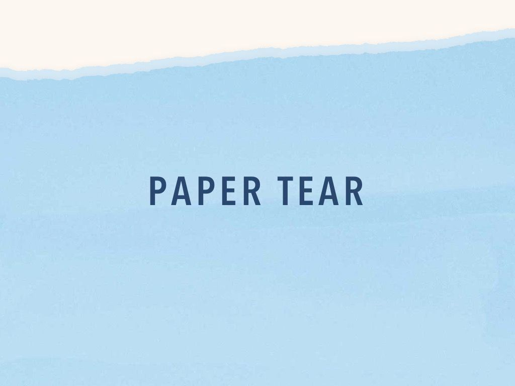 Paper Tear PowerPoint Template, Slide 10, 04995, Presentation Templates — PoweredTemplate.com