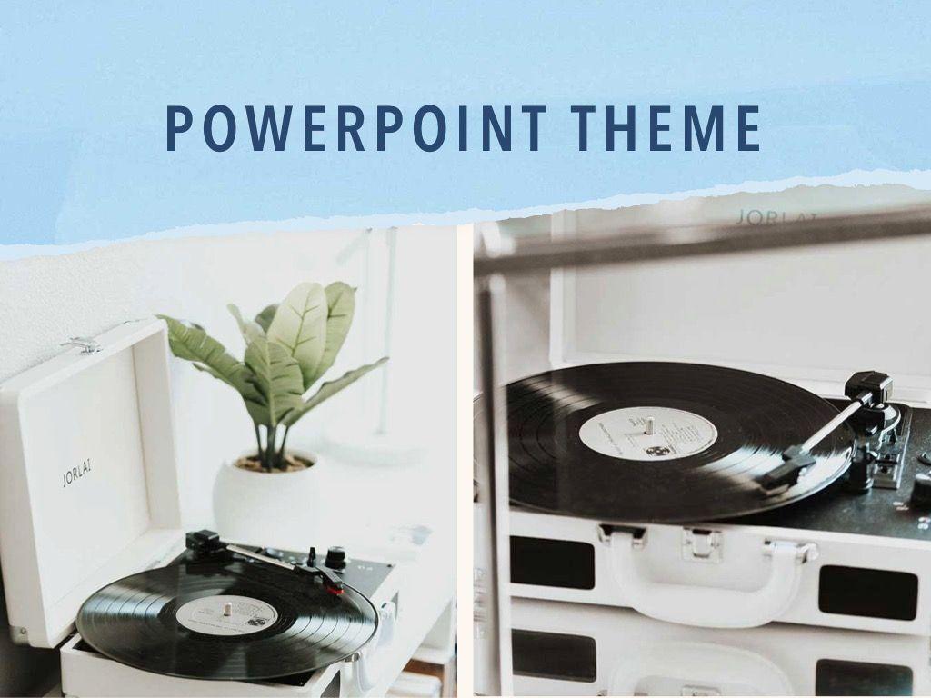 Paper Tear PowerPoint Template, Slide 16, 04995, Presentation Templates — PoweredTemplate.com