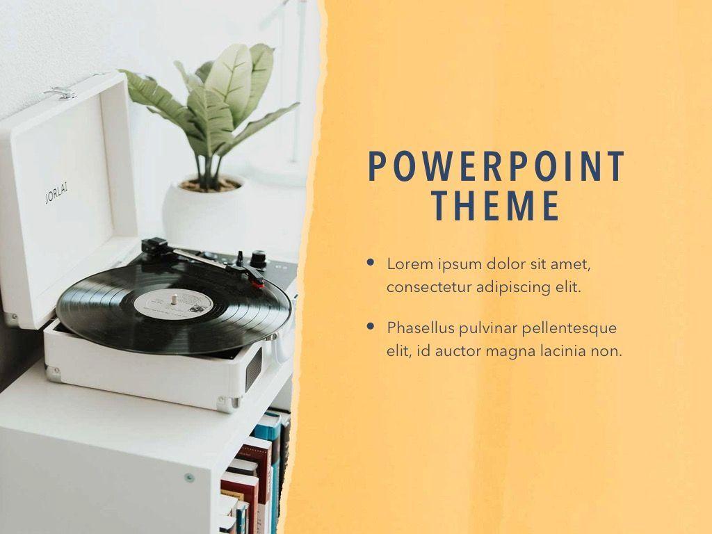 Paper Tear PowerPoint Template, Slide 18, 04995, Presentation Templates — PoweredTemplate.com