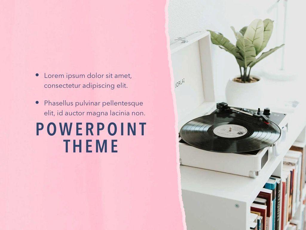Paper Tear PowerPoint Template, Slide 19, 04995, Presentation Templates — PoweredTemplate.com