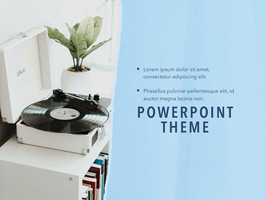 Paper Tear PowerPoint Template, Slide 20, 04995, Presentation Templates — PoweredTemplate.com