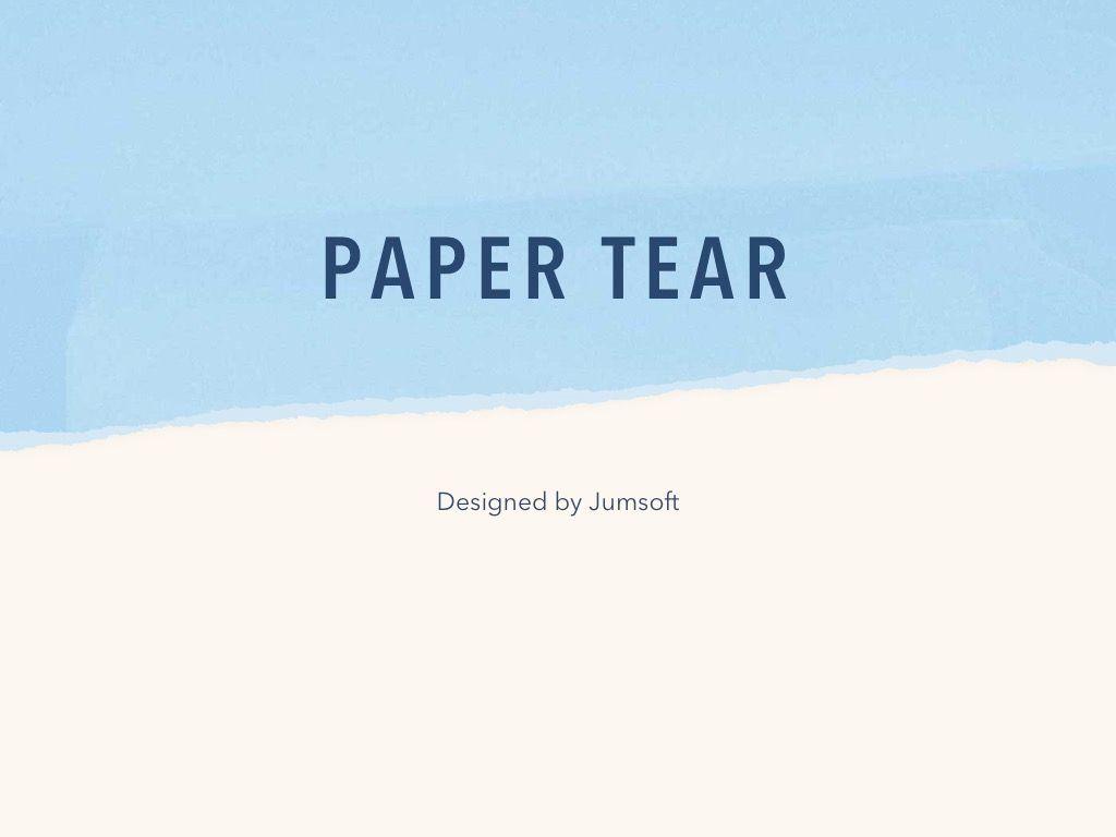 Paper Tear PowerPoint Template, Slide 3, 04995, Presentation Templates — PoweredTemplate.com
