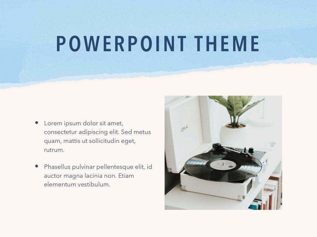 Paper Tear PowerPoint Template, Slide 30, 04995, Presentation Templates — PoweredTemplate.com