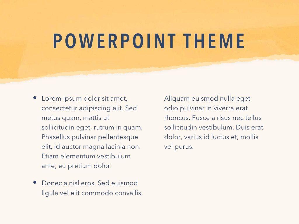 Paper Tear PowerPoint Template, Slide 5, 04995, Presentation Templates — PoweredTemplate.com