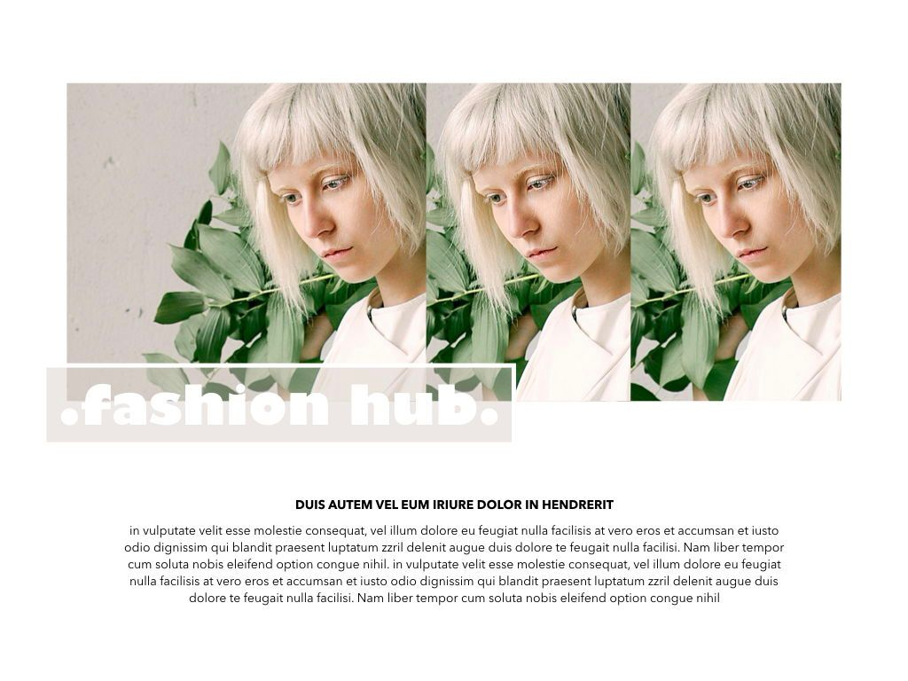 Bleached Powerpoint Presentation Template, Slide 6, 04997, Presentation Templates — PoweredTemplate.com