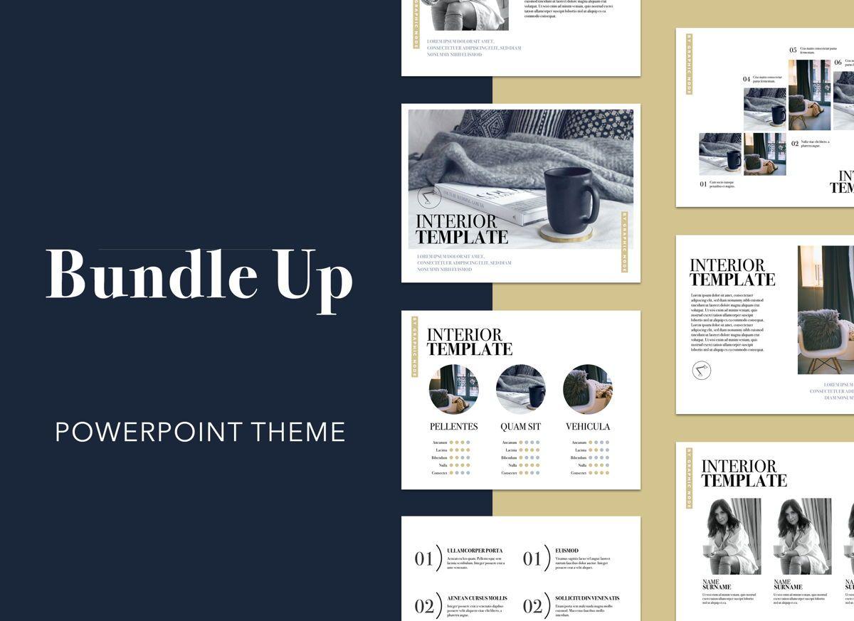 Bundle Up Powerpoint Presentation Template, 04998, Presentation Templates — PoweredTemplate.com