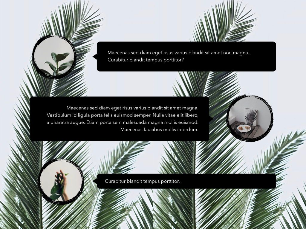 Natural Vibe Powerpoint Presentation Template, Slide 3, 04999, Presentation Templates — PoweredTemplate.com