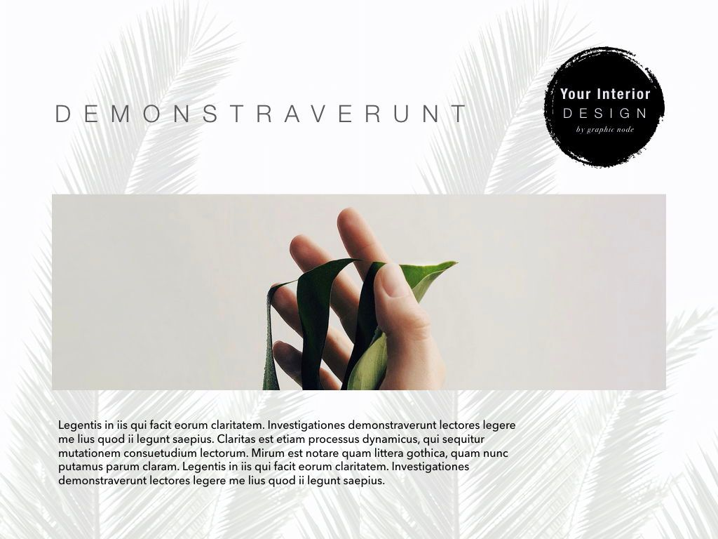 Natural Vibe Powerpoint Presentation Template, Slide 4, 04999, Presentation Templates — PoweredTemplate.com