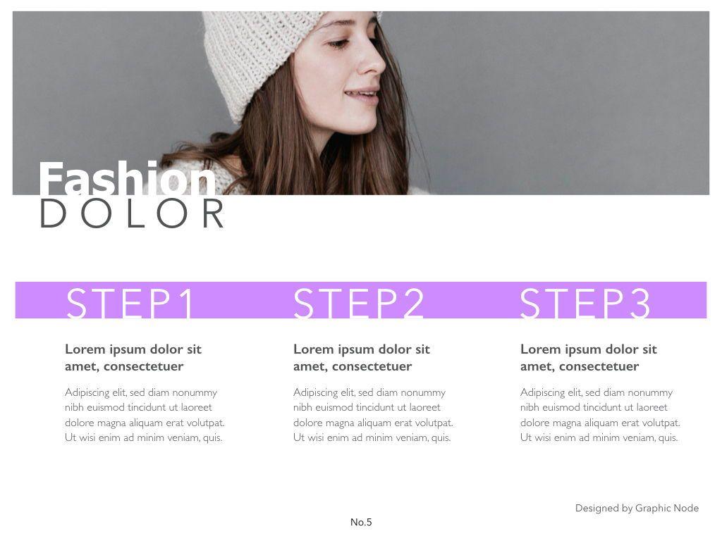 Purple Lining Powerpoint Presentation Template, Slide 9, 05000, Presentation Templates — PoweredTemplate.com