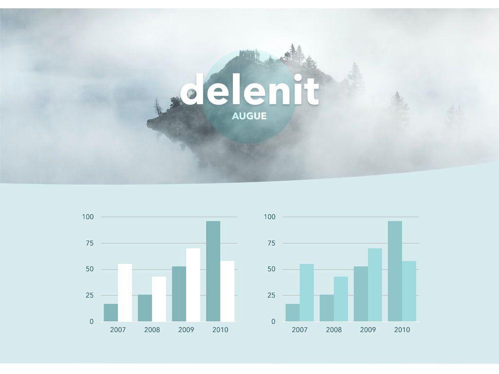 Azure Mist Keynote Presentation Template, Slide 9, 05003, Presentation Templates — PoweredTemplate.com