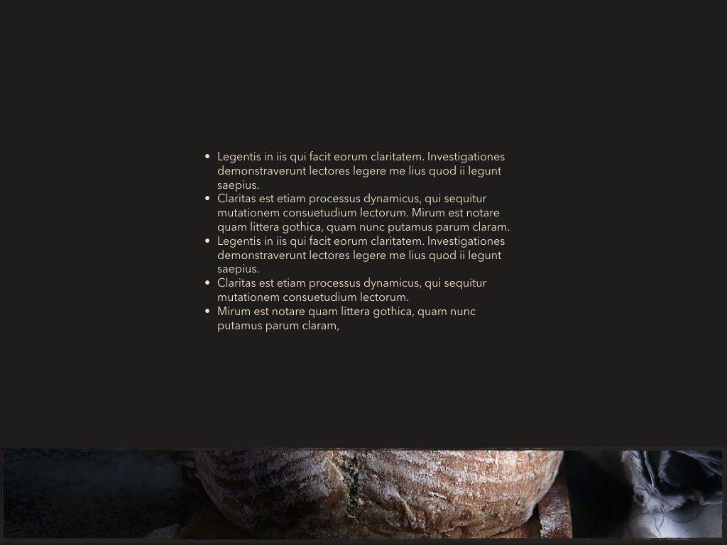 Dark Taste Keynote Presentation Template, Slide 12, 05004, Presentation Templates — PoweredTemplate.com