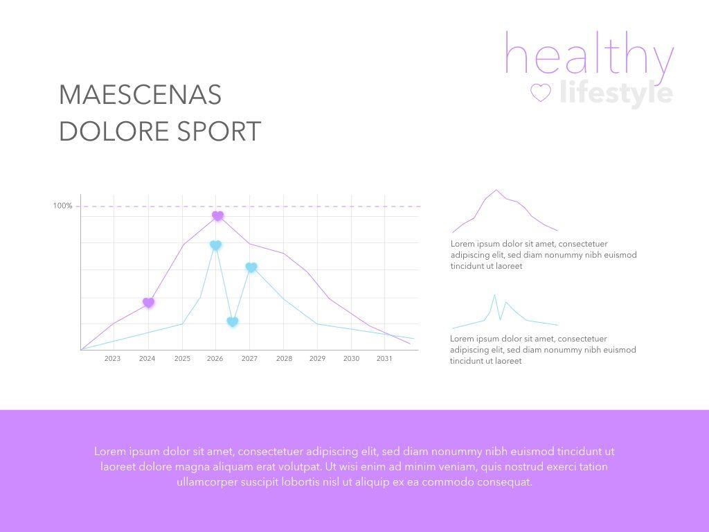 Fit Healthy Keynote Presentation Template, Slide 13, 05008, Presentation Templates — PoweredTemplate.com