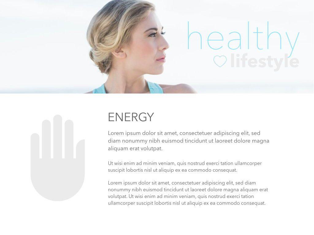 Fit Healthy Keynote Presentation Template, Slide 27, 05008, Presentation Templates — PoweredTemplate.com