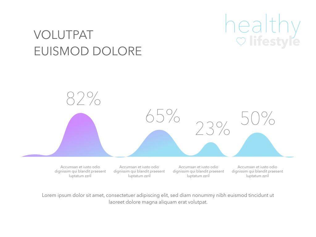 Fit Healthy Keynote Presentation Template, Slide 4, 05008, Presentation Templates — PoweredTemplate.com