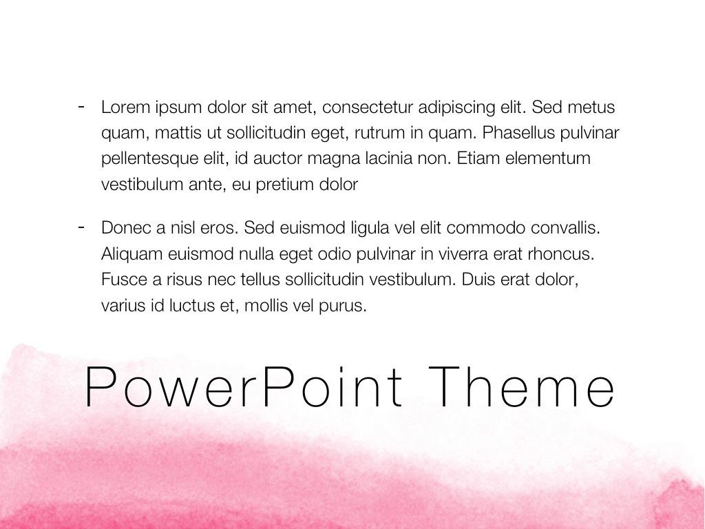 The Rouge PowerPoint Template, Slide 12, 05009, Education Charts and Diagrams — PoweredTemplate.com
