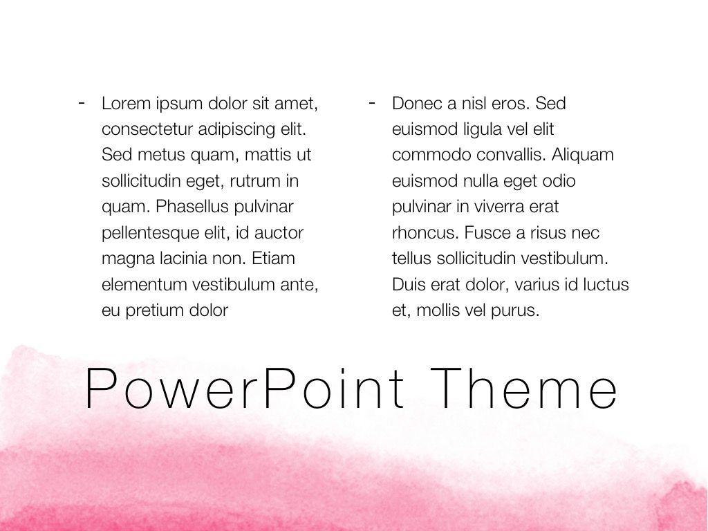The Rouge PowerPoint Template, Slide 13, 05009, Education Charts and Diagrams — PoweredTemplate.com