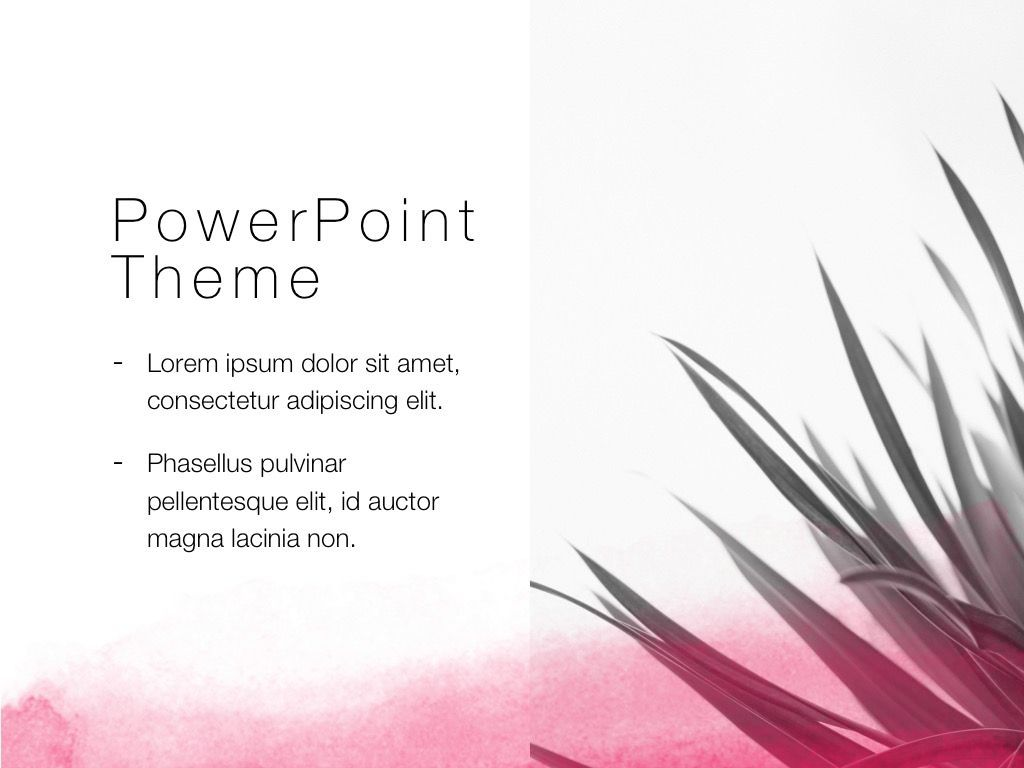 The Rouge PowerPoint Template, Slide 17, 05009, Education Charts and Diagrams — PoweredTemplate.com