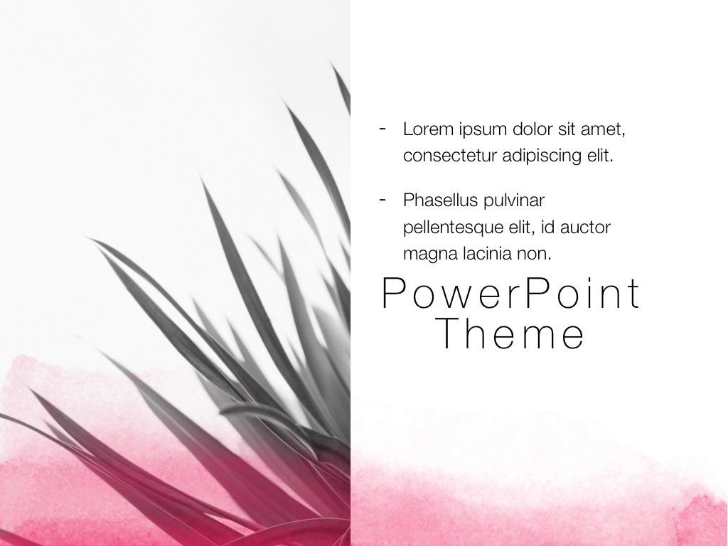 The Rouge PowerPoint Template, Slide 20, 05009, Education Charts and Diagrams — PoweredTemplate.com