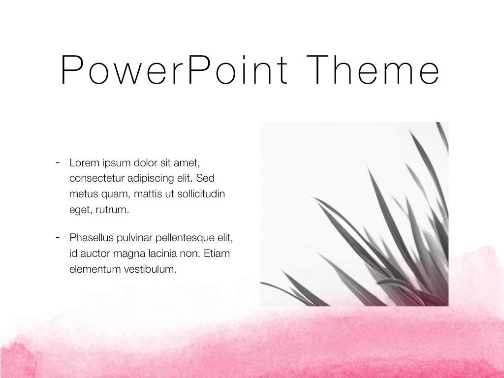 The Rouge PowerPoint Template, Slide 30, 05009, Education Charts and Diagrams — PoweredTemplate.com