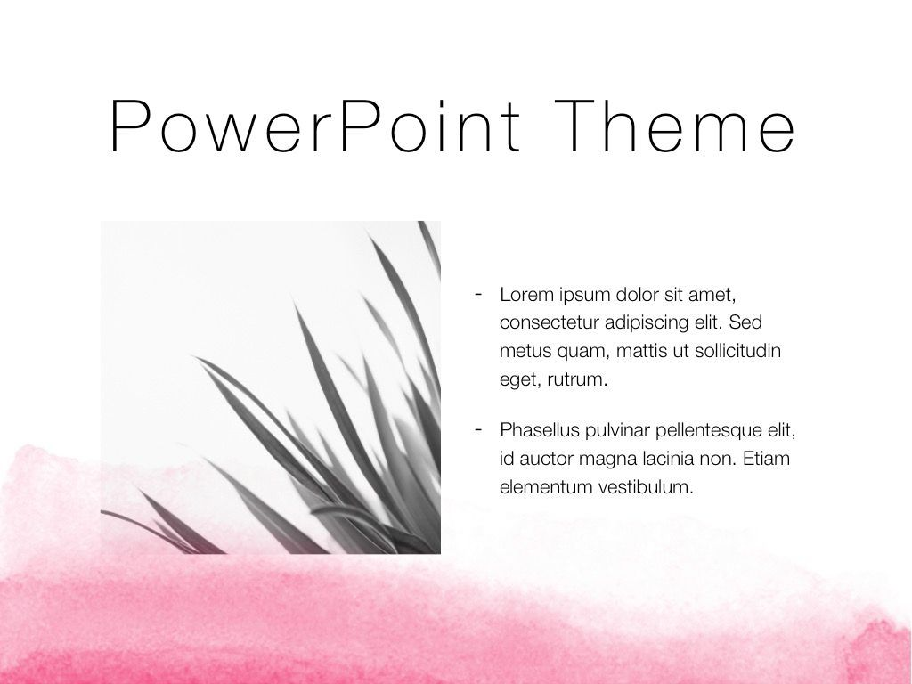 The Rouge PowerPoint Template, Slide 31, 05009, Education Charts and Diagrams — PoweredTemplate.com