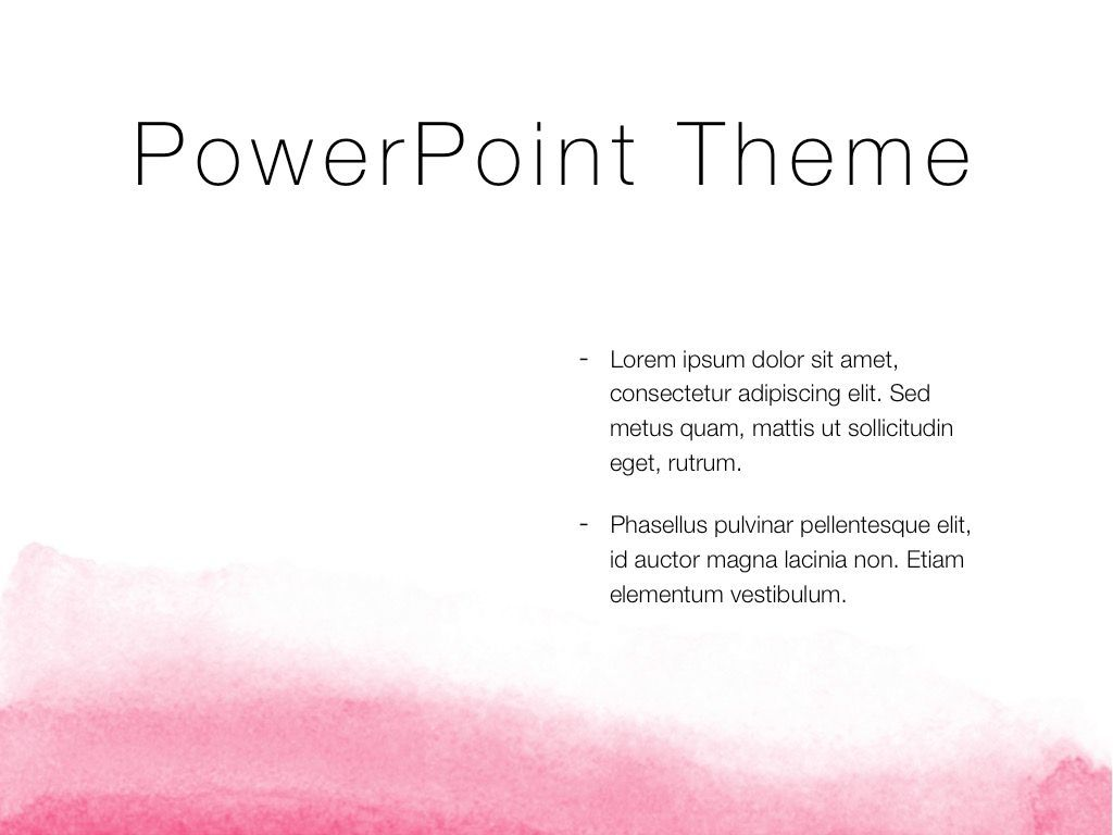 The Rouge PowerPoint Template, Slide 33, 05009, Education Charts and Diagrams — PoweredTemplate.com
