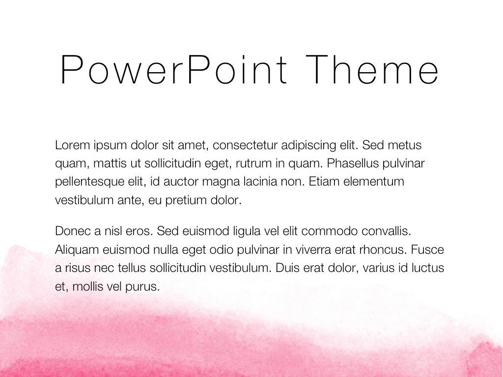 The Rouge PowerPoint Template, Slide 4, 05009, Education Charts and Diagrams — PoweredTemplate.com
