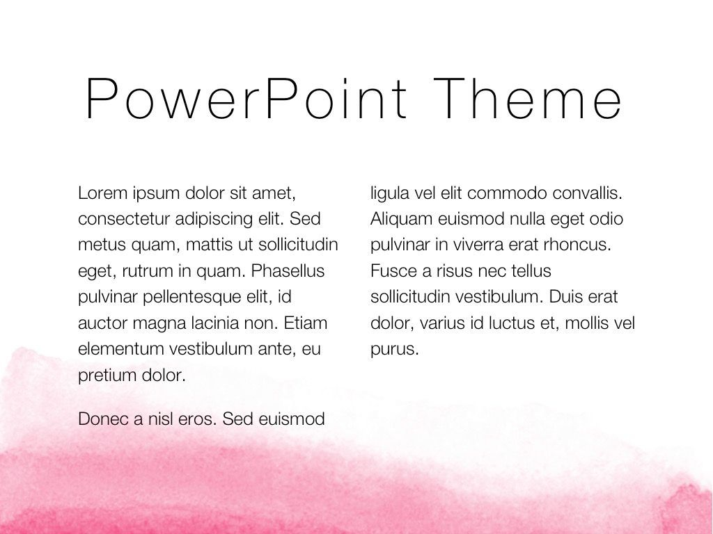The Rouge PowerPoint Template, Slide 5, 05009, Education Charts and Diagrams — PoweredTemplate.com