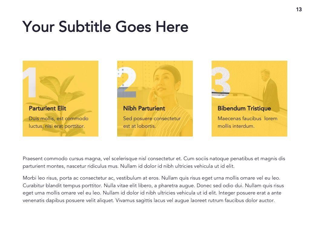 Light Solid Google Slides Template, Slide 14, 05010, Presentation Templates — PoweredTemplate.com