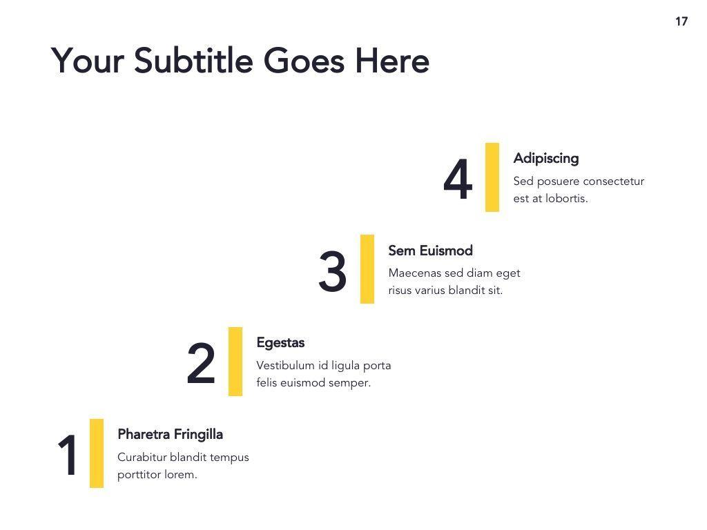 Light Solid Google Slides Template, Slide 18, 05010, Presentation Templates — PoweredTemplate.com
