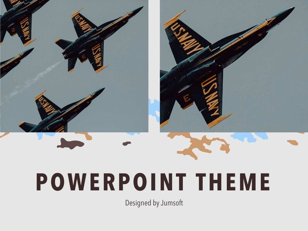 Camouflage PowerPoint Template, Slide 14, 05011, Presentation Templates — PoweredTemplate.com