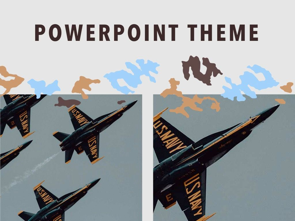 Camouflage PowerPoint Template, Slide 16, 05011, Presentation Templates — PoweredTemplate.com