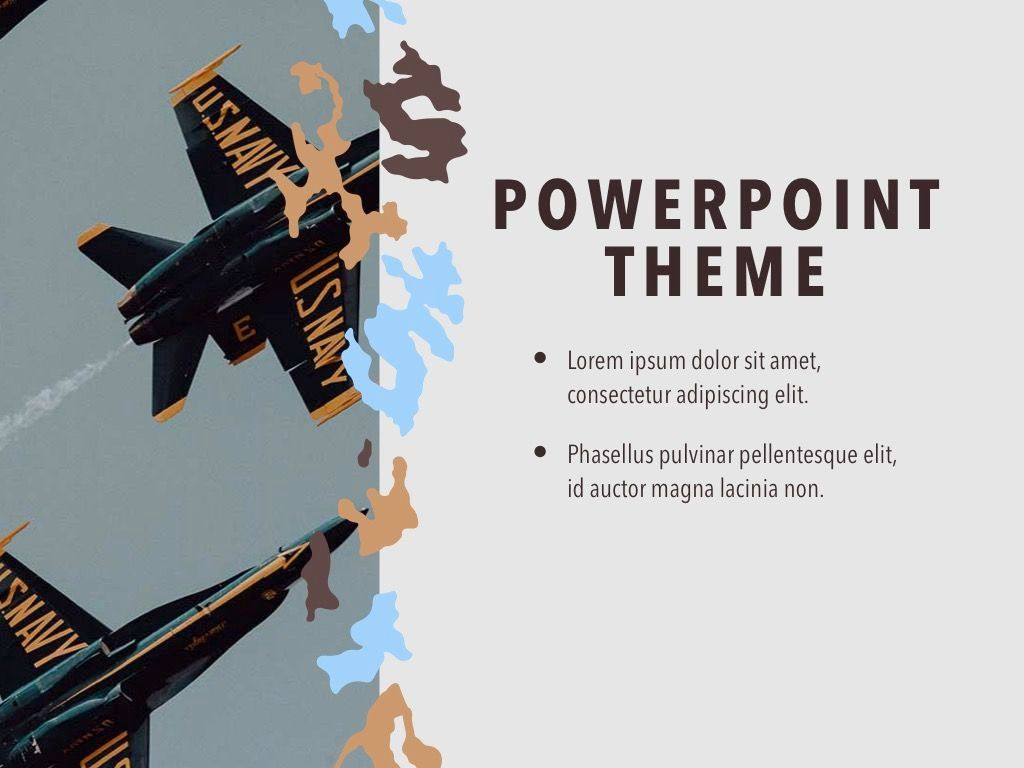 Camouflage PowerPoint Template, Slide 18, 05011, Presentation Templates — PoweredTemplate.com