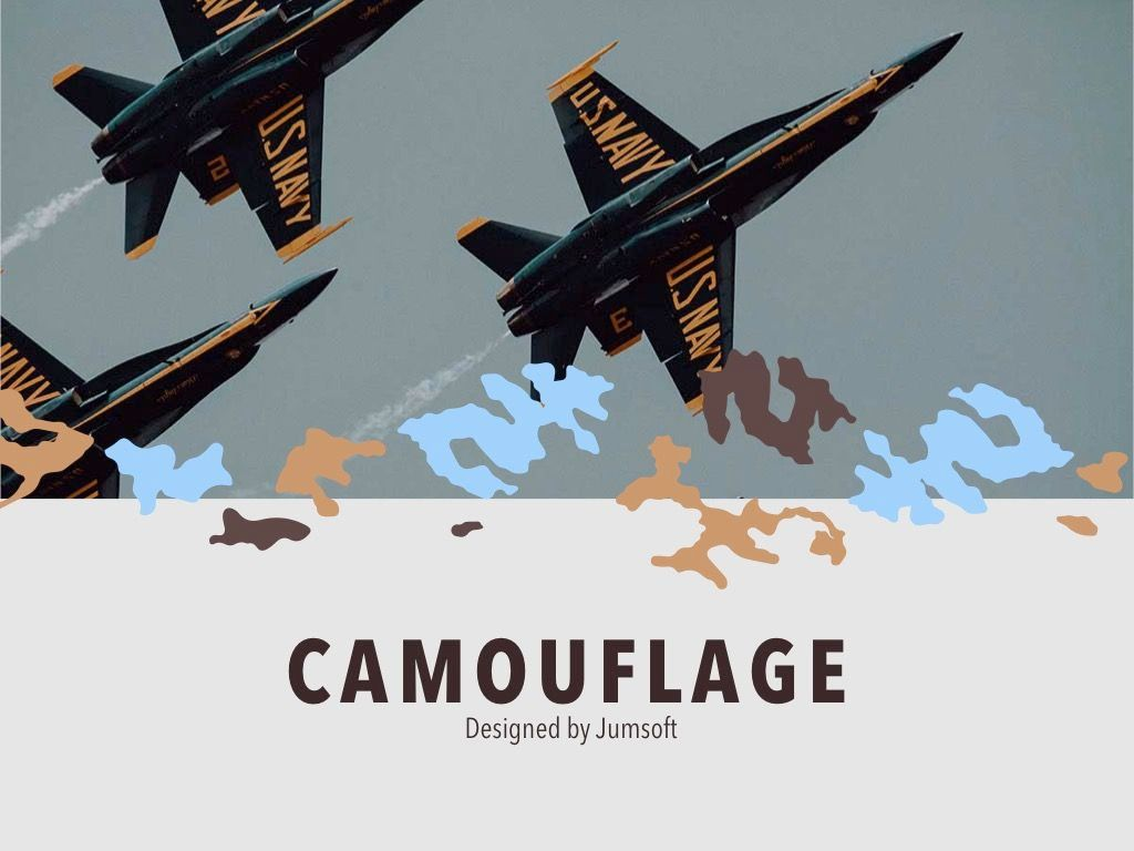 Camouflage PowerPoint Template, Slide 2, 05011, Presentation Templates — PoweredTemplate.com