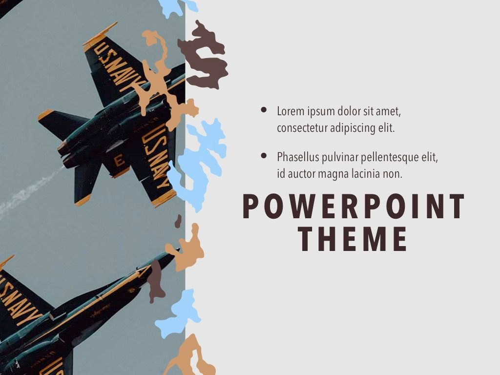 Camouflage PowerPoint Template, Slide 20, 05011, Presentation Templates — PoweredTemplate.com