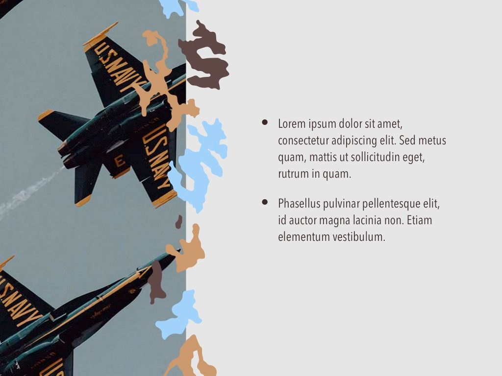 Camouflage PowerPoint Template, Slide 22, 05011, Presentation Templates — PoweredTemplate.com