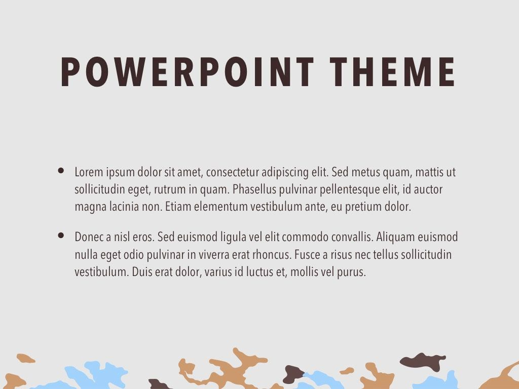 Camouflage PowerPoint Template, Slide 4, 05011, Presentation Templates — PoweredTemplate.com