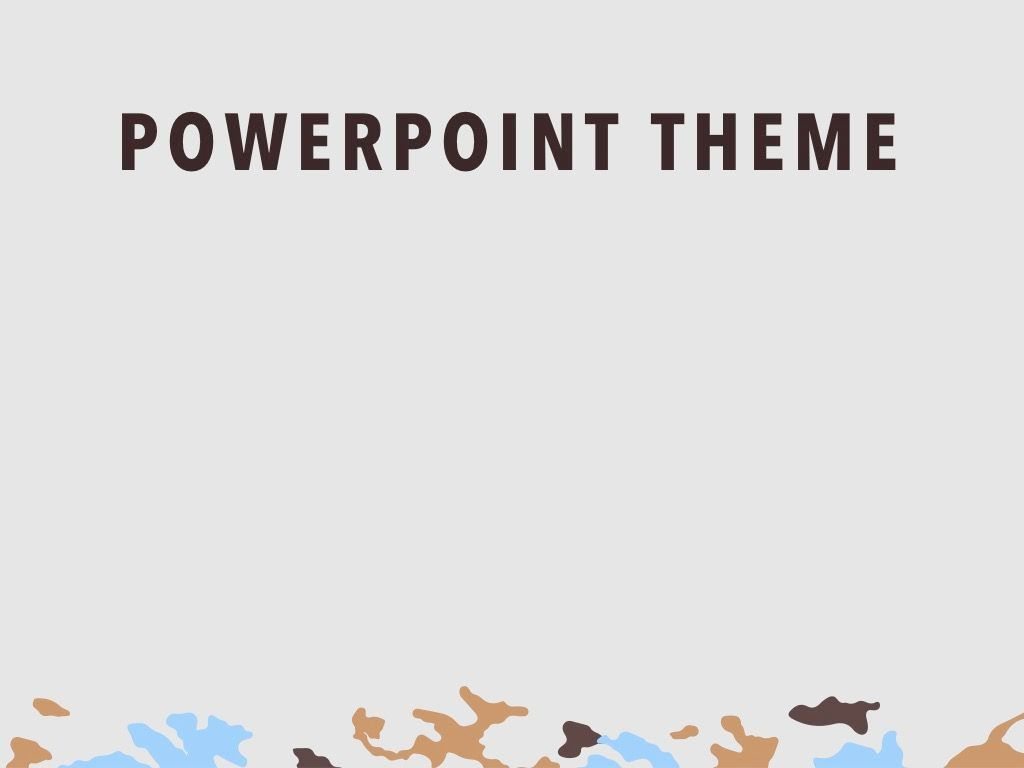 Camouflage PowerPoint Template, Slide 9, 05011, Presentation Templates — PoweredTemplate.com