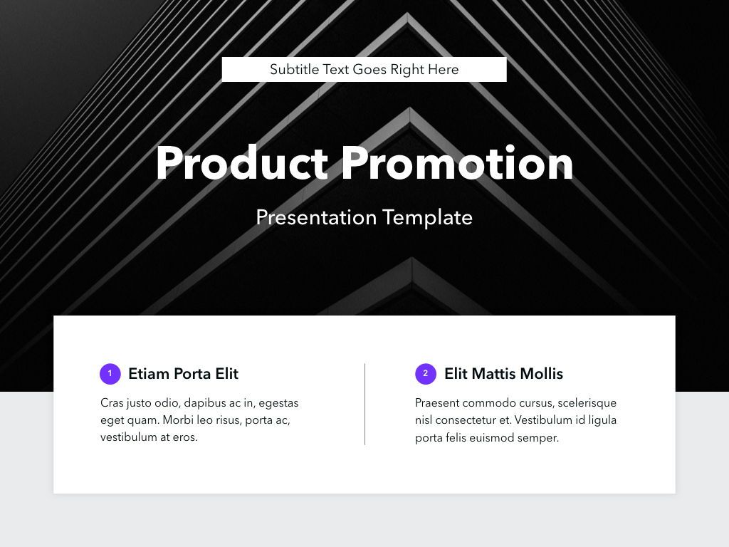 Product Promotion PowerPoint Template, Slide 2, 05015, Presentation Templates — PoweredTemplate.com
