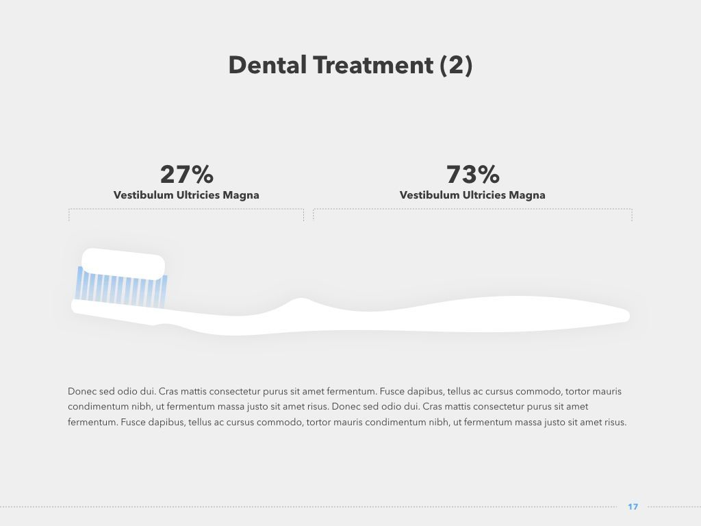 Dentistry PowerPoint Template, Slide 18, 05017, Medical Diagrams and Charts — PoweredTemplate.com
