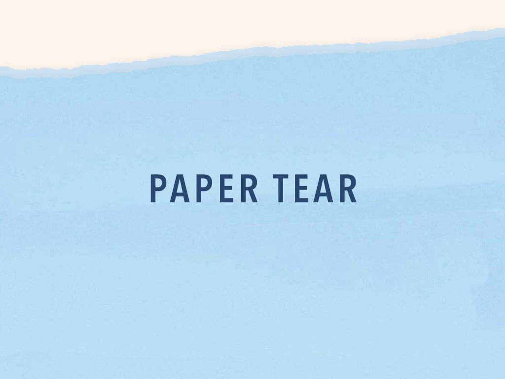 Paper Tear Keynote Template, Slide 10, 05018, Presentation Templates — PoweredTemplate.com
