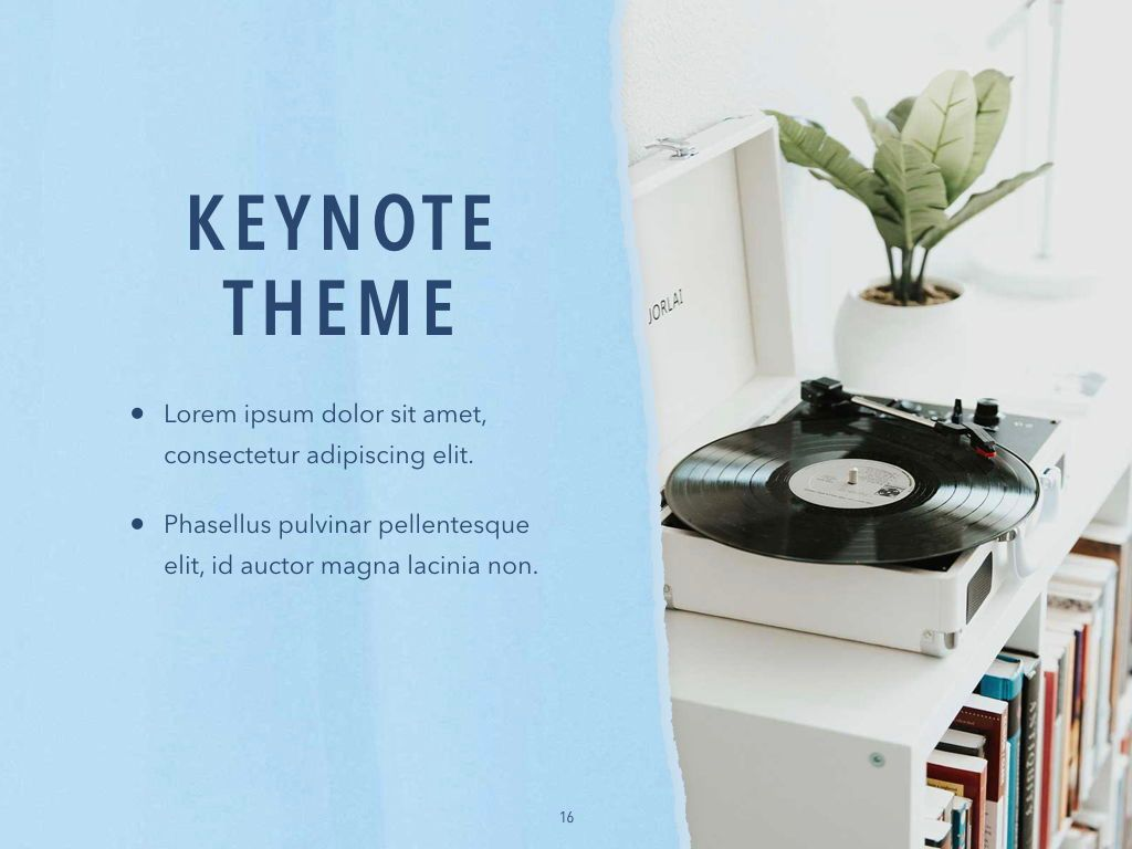 Paper Tear Keynote Template, Slide 17, 05018, Presentation Templates — PoweredTemplate.com