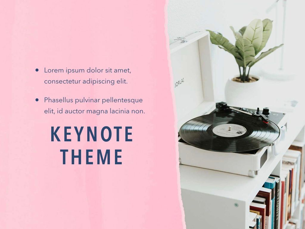 Paper Tear Keynote Template, Slide 19, 05018, Presentation Templates — PoweredTemplate.com