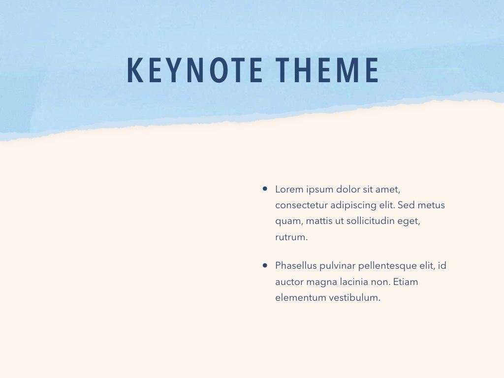 Paper Tear Keynote Template, Slide 33, 05018, Presentation Templates — PoweredTemplate.com