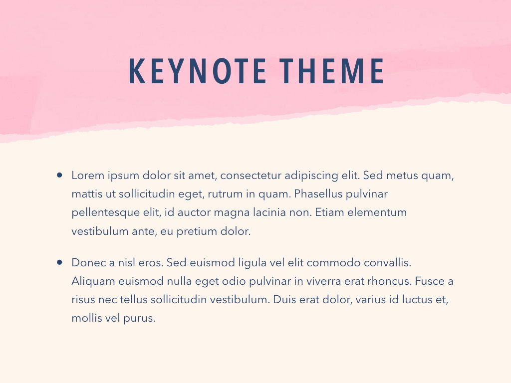 Paper Tear Keynote Template, Slide 4, 05018, Presentation Templates — PoweredTemplate.com