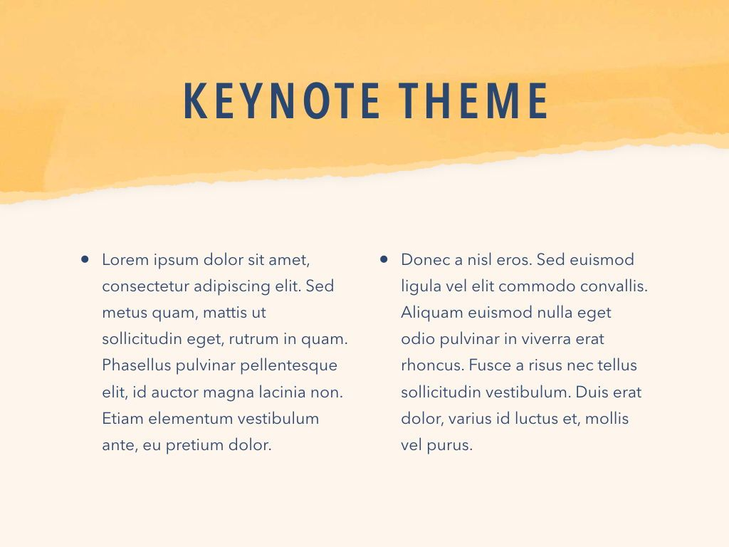 Paper Tear Keynote Template, Slide 5, 05018, Presentation Templates — PoweredTemplate.com