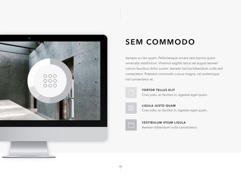 Concrete PowerPoint Template, Slide 11, 05019, Presentation Templates — PoweredTemplate.com
