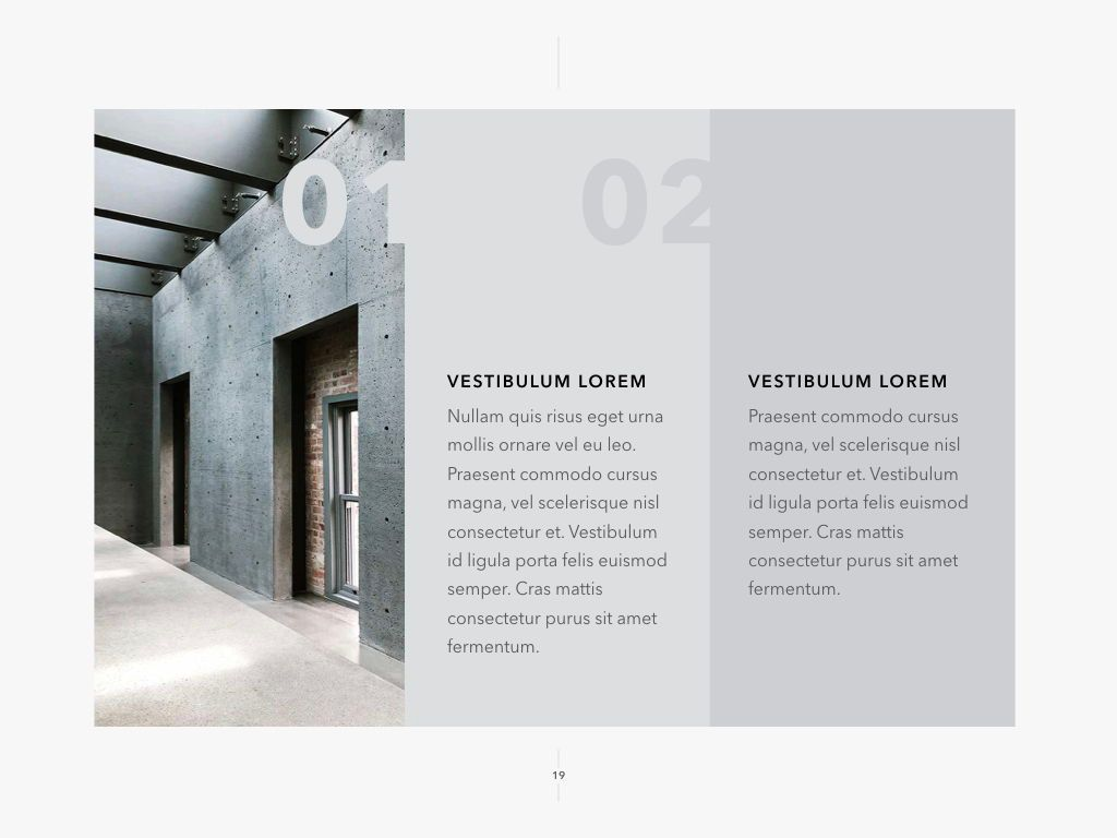 Concrete PowerPoint Template, Slide 20, 05019, Presentation Templates — PoweredTemplate.com