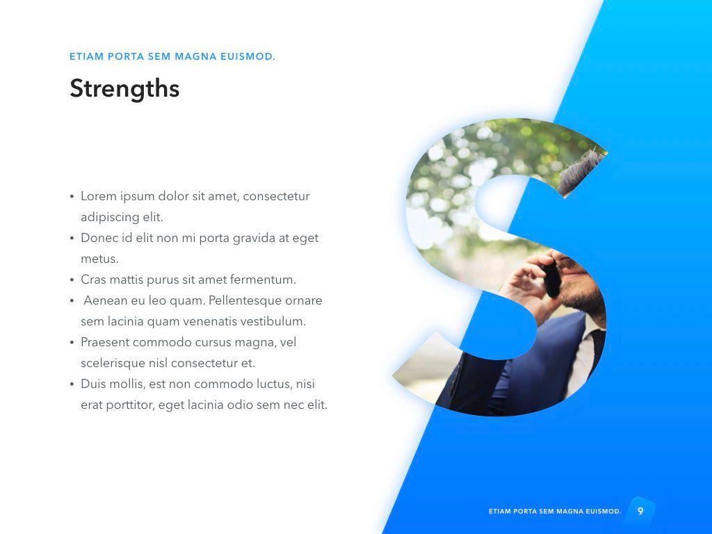 Lined Up PowerPoint Template, Slide 10, 05022, Presentation Templates — PoweredTemplate.com